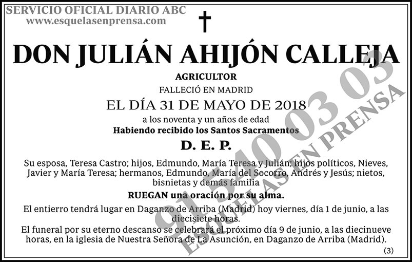Julián Ahijón Calleja